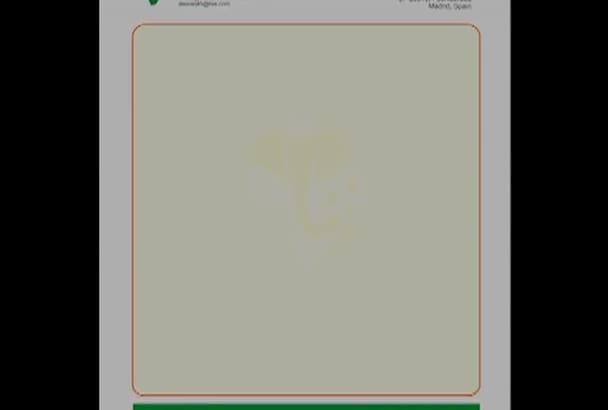 convert your letterhead to a Word Document