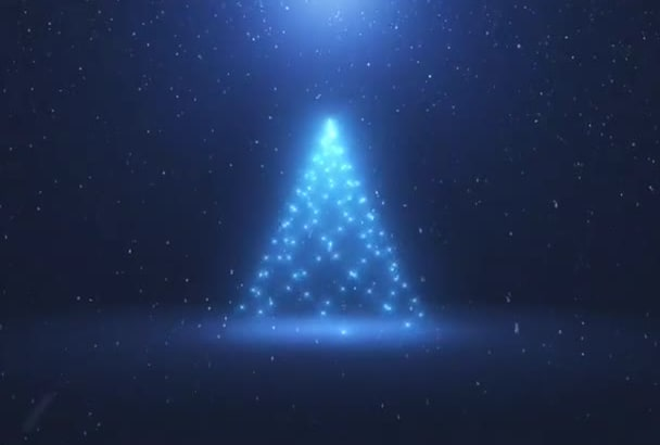 make you this AMAZING Christmas intro with your logo