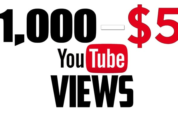 boost your youtube views by 1,000