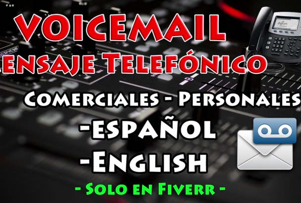 Record a professional voicemail ivr greeting phone message by javierpaz record a professional voicemail ivr greeting phone message m4hsunfo