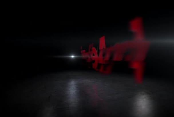 make unique transforming INTRO video