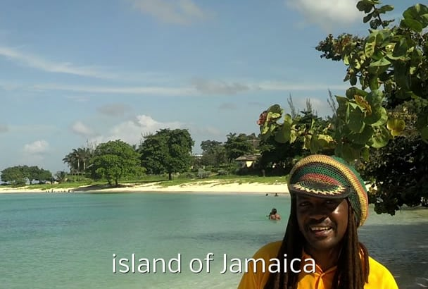 do prank video from Jamaican Beach