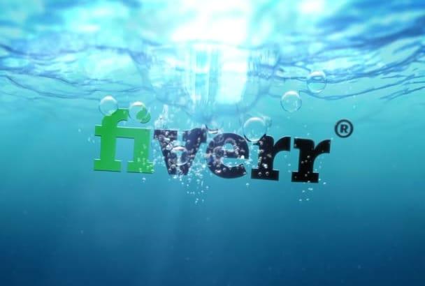 3d Water SPLASH Intro full hd