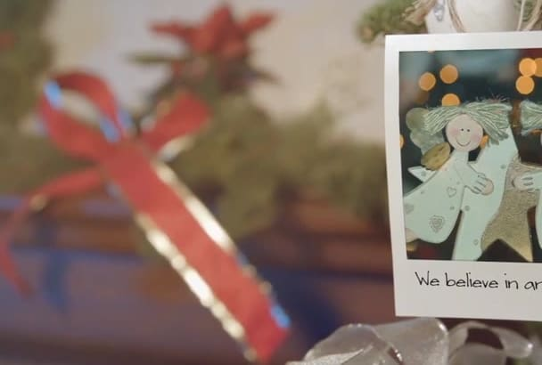 create Beautiful Christmas and New Year Photo Gallery Video
