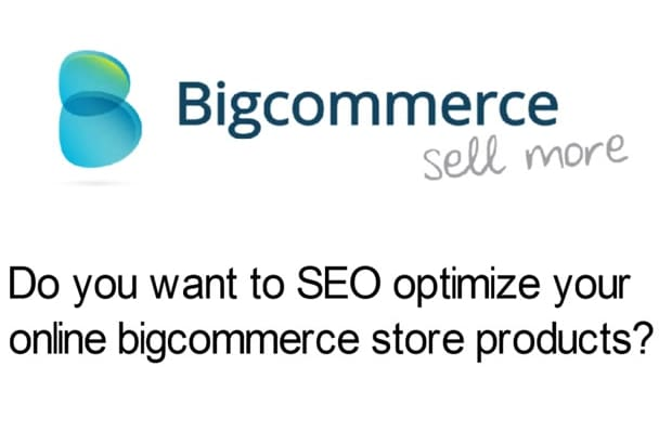 do bigcommerce seo on page optimization to rank your site