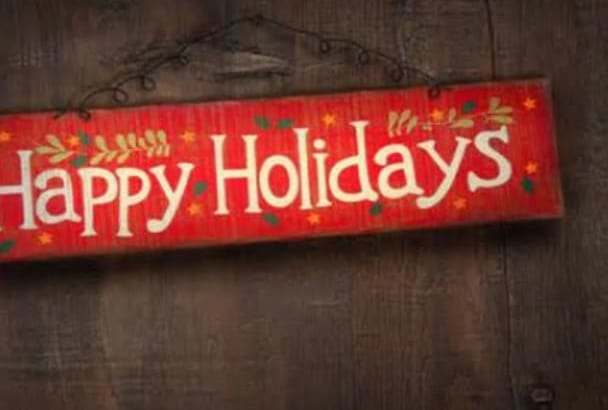 create your holiday voicemail greeting, radio ads, podcast TODAY