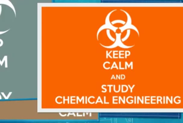 help you with any chemical engineering related assignment