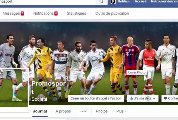 design Attractive and professional facebook cover