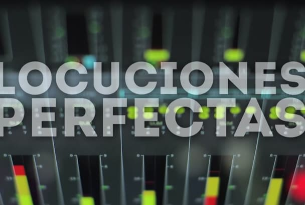 record today the perfect promotional voiceover in spanish