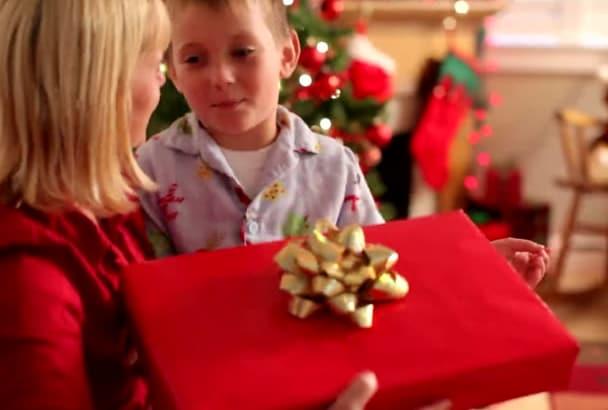 record a greeting from santa claus