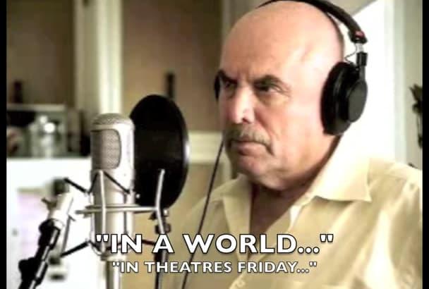 record a Don Lafontaine epic movie trailer voice