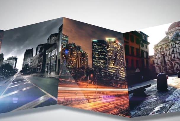 produce Portfolio Slideshow Animation