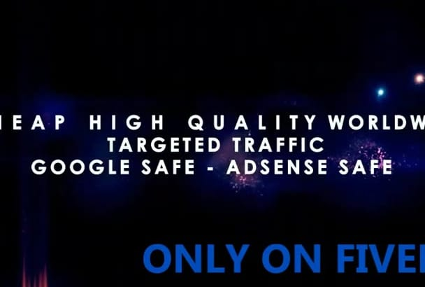 customize This Amazing Web Traffic Service video To Impress Your Clients