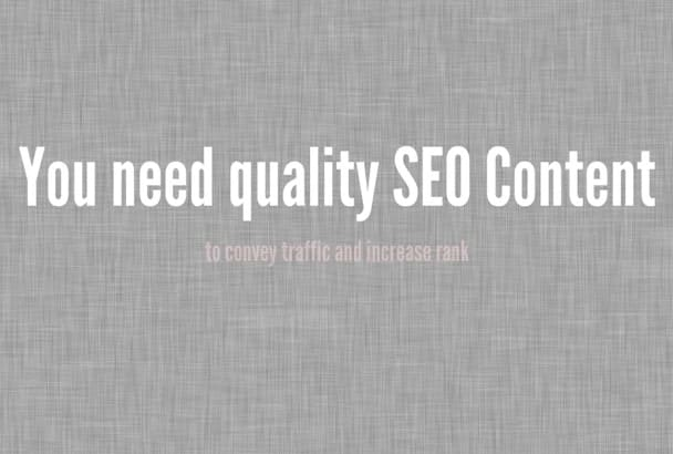 write a Perfect SEO Article