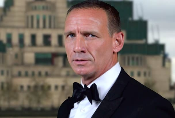 send Happy Birthday message from James as  Bond Impersonator