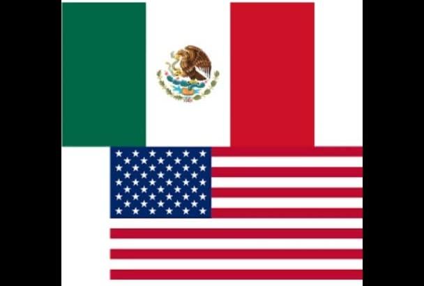 make an AMAZING 600 word Spanish English translation