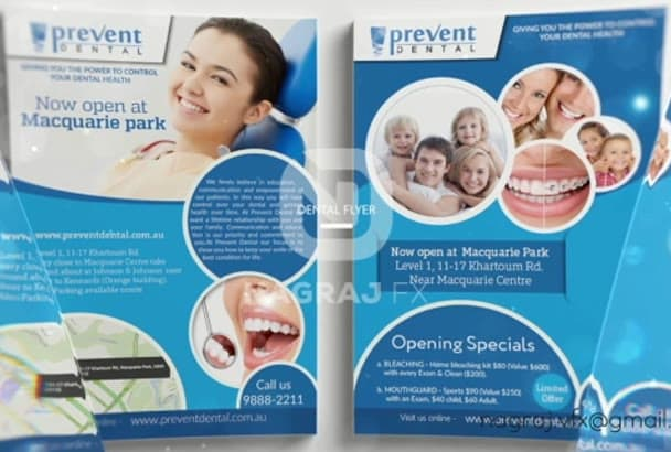 design high quality Flyer and Brochure designs