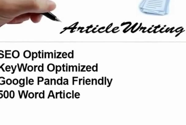 do 500 word SEO Article writing and rewrite content