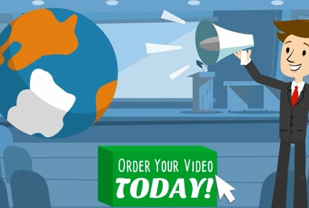 I Will Create An Engaging Animated Explainer Video