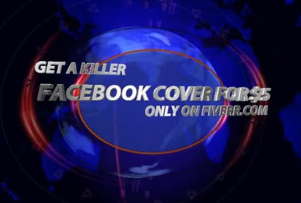 create a killer FB cover for your facebook page for 5 dollars