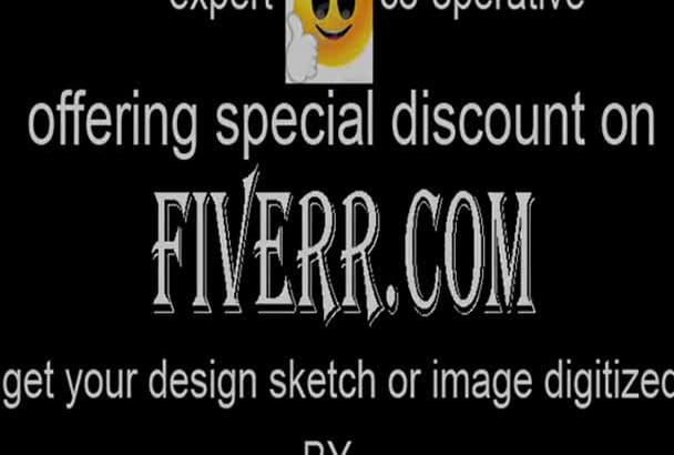 do embroidery logo digitizing for any machine