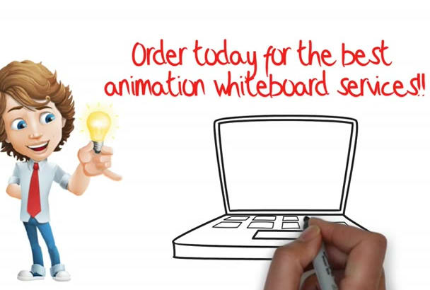 make professionnal  Whiteboard Video