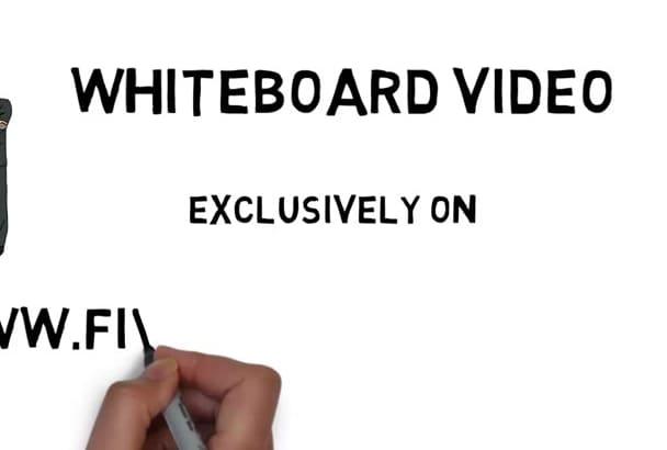 create appealing whiteboard video