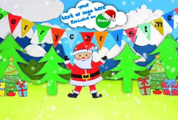 create your Christmas video greeting