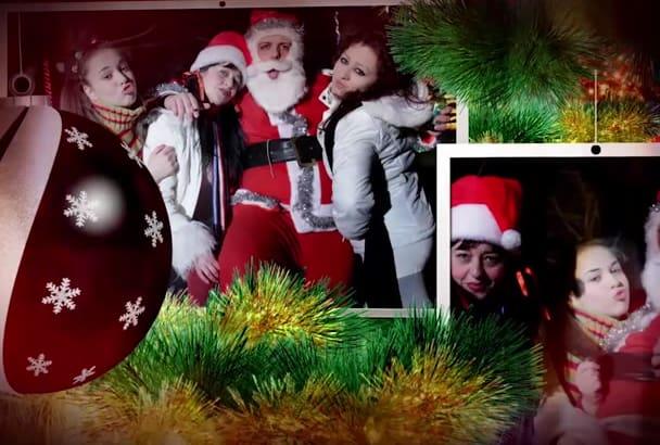 make this Christmas slideshow