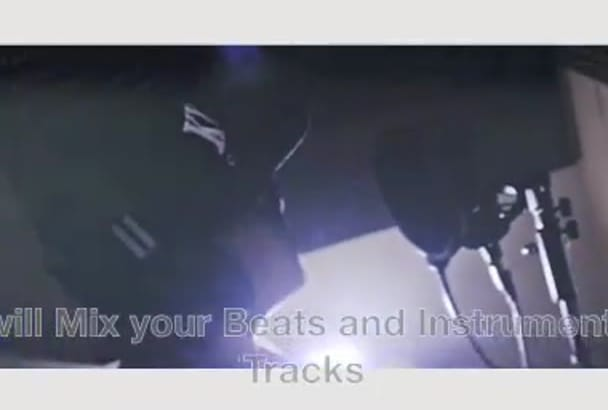 mix and master your Instrumental track