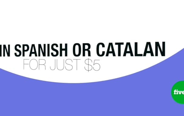 proofread 900 WORDS written in Spanish or Catalan