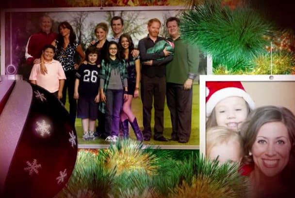 create your slideshow for Christmas