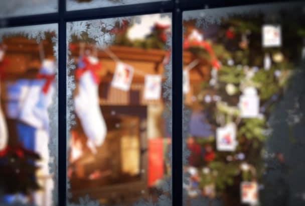 make Christmas and New Year SLIDESHOW