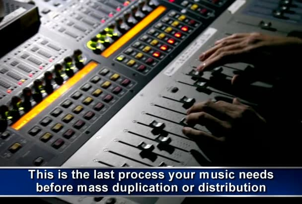 master your music for CD, Radio or Youtube Mastering Pro