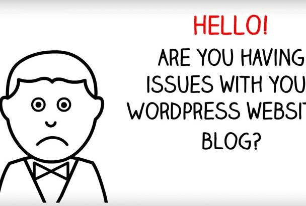 modify your word press site