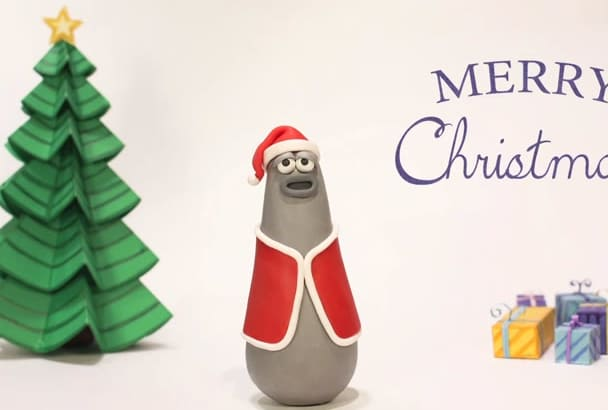 create an HD Christmas video with your wish