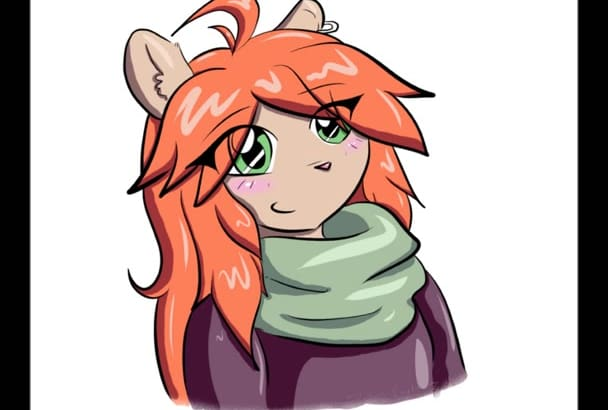 draw you any cartoon or anime illustration