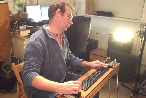 play pedal steel guitar on your song
