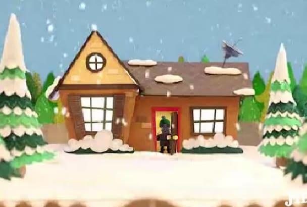 make a Funny Christmas holiday video