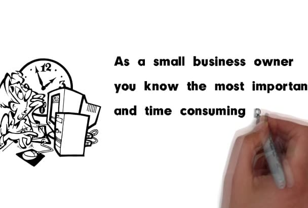 create an animated commercial or explainer video