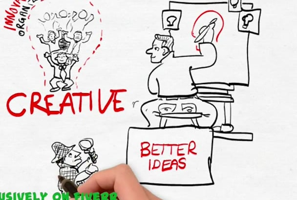 create a cracking whiteboard animation
