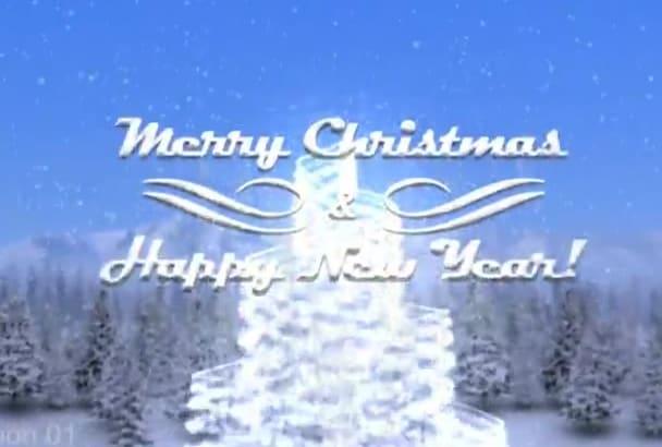 do WONDERFUL Christmas Intro Video