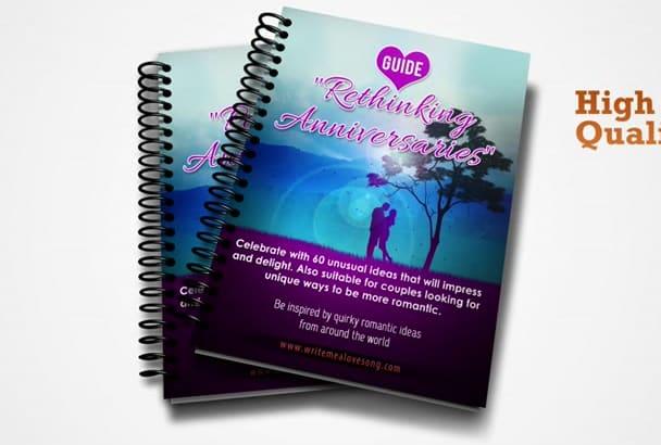 create Professional 3D Ebook Cover 3D Ebook mockup