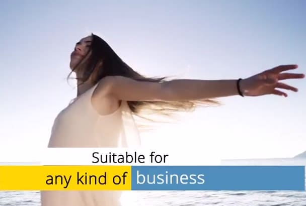 create business promotion videos