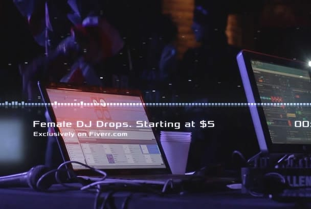 make 3 Pro Female DJ drops with 3 vocal fx