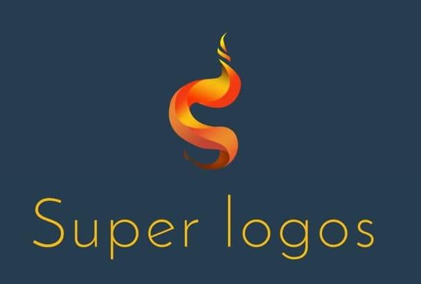 design 2 SUPER logo designs for you