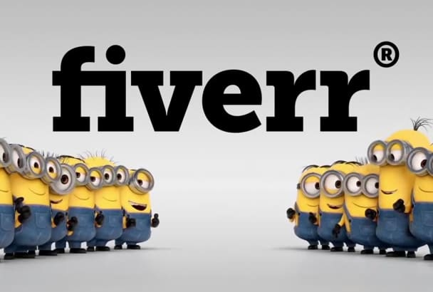 put your text or logo in this Minion video