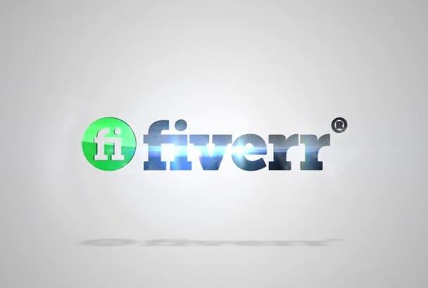 make Clean Fast Form Logo Intro