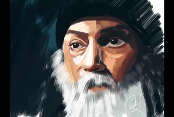digital paint an Artistic Portrait from your photo