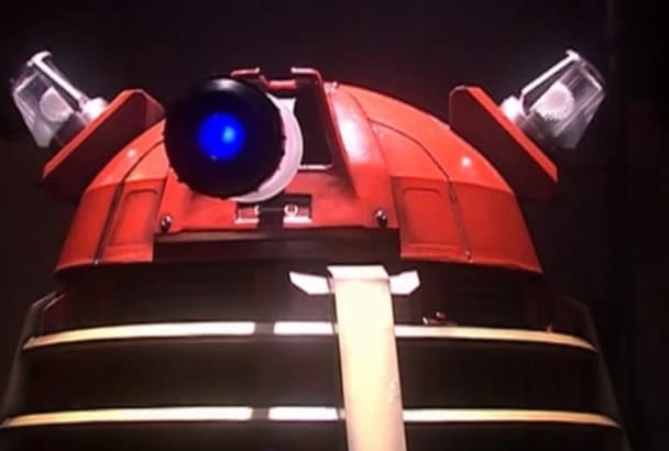 do an impression of a Dalek from Doctor Who